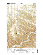 Leroy Montana Current topographic map, 1:24000 scale, 7.5 X 7.5 Minute, Year 2014 from Montana Map Store