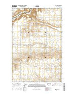 Letz Lake Montana Current topographic map, 1:24000 scale, 7.5 X 7.5 Minute, Year 2014 from Montana Map Store