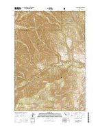 Lewis Creek Montana Current topographic map, 1:24000 scale, 7.5 X 7.5 Minute, Year 2014 from Montana Map Store