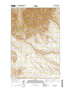 Lewis Peak Montana Current topographic map, 1:24000 scale, 7.5 X 7.5 Minute, Year 2014 from Montana Map Store