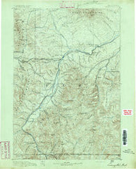 Livingston Montana Historical topographic map, 1:250000 scale, 1 X 1 Degree, Year 1891