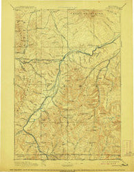 Livingston Montana Historical topographic map, 1:250000 scale, 1 X 1 Degree, Year 1893