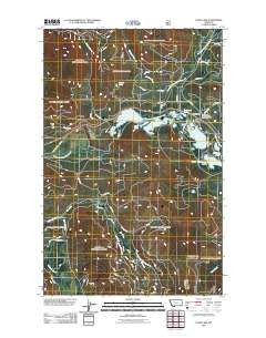 Loon Lake Montana Historical topographic map, 1:24000 scale, 7.5 X 7.5 Minute, Year 2011
