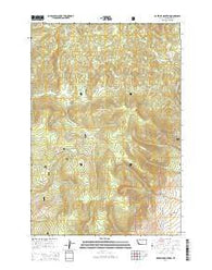Maverick Mountain Montana Current topographic map, 1:24000 scale, 7.5 X 7.5 Minute, Year 2014
