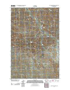 McWilliams Springs Montana Historical topographic map, 1:24000 scale, 7.5 X 7.5 Minute, Year 2011