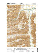 P N Ranch Montana Current topographic map, 1:24000 scale, 7.5 X 7.5 Minute, Year 2014 from Montana Map Store