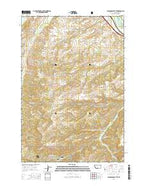 Packsaddle Butte Montana Current topographic map, 1:24000 scale, 7.5 X 7.5 Minute, Year 2014 from Montana Map Store