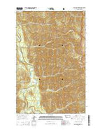 Pagoda Mountain Montana Current topographic map, 1:24000 scale, 7.5 X 7.5 Minute, Year 2014 from Montana Map Store