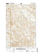 Pocochichee Butte Montana Current topographic map, 1:24000 scale, 7.5 X 7.5 Minute, Year 2014 from Montana Map Store
