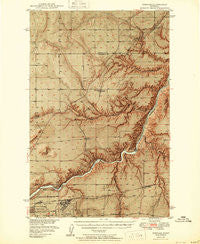 Portage Montana Historical topographic map, 1:62500 scale, 15 X 15 Minute, Year 1949