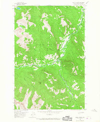 Pretty Prairie Montana Historical topographic map, 1:24000 scale, 7.5 X 7.5 Minute, Year 1958