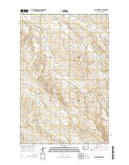 Quick Reservoir Montana Current topographic map, 1:24000 scale, 7.5 X 7.5 Minute, Year 2014 from Montana Map Store
