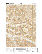 Quietus Montana Current topographic map, 1:24000 scale, 7.5 X 7.5 Minute, Year 2014 from Montana Map Store