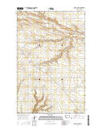 Quigley Coulee Montana Current topographic map, 1:24000 scale, 7.5 X 7.5 Minute, Year 2014 from Montana Map Store