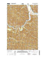 Quinns Hot Springs Montana Current topographic map, 1:24000 scale, 7.5 X 7.5 Minute, Year 2014 from Montana Map Store
