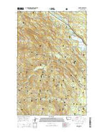 Radnor Montana Current topographic map, 1:24000 scale, 7.5 X 7.5 Minute, Year 2014 from Montana Map Store
