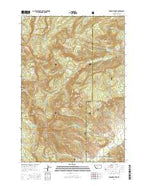 Ramshorn Peak Montana Current topographic map, 1:24000 scale, 7.5 X 7.5 Minute, Year 2014 from Montana Map Store