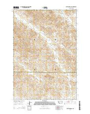Rattlesnake Hill Montana Current topographic map, 1:24000 scale, 7.5 X 7.5 Minute, Year 2014 from Montana Maps Store