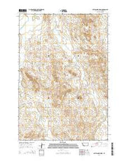 Rattlesnake Ridge Montana Current topographic map, 1:24000 scale, 7.5 X 7.5 Minute, Year 2014 from Montana Maps Store
