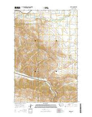 Ravalli Montana Current topographic map, 1:24000 scale, 7.5 X 7.5 Minute, Year 2014 from Montana Maps Store