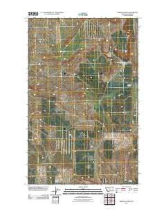 Rimrock Ranch Montana Historical topographic map, 1:24000 scale, 7.5 X 7.5 Minute, Year 2011