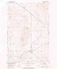 Ringling Montana Historical topographic map, 1:24000 scale, 7.5 X 7.5 Minute, Year 1951