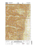 Saint Mary Peak Montana Current topographic map, 1:24000 scale, 7.5 X 7.5 Minute, Year 2014 from Montana Map Store