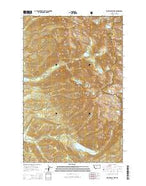 Saint Marys Lake Montana Current topographic map, 1:24000 scale, 7.5 X 7.5 Minute, Year 2014 from Montana Map Store