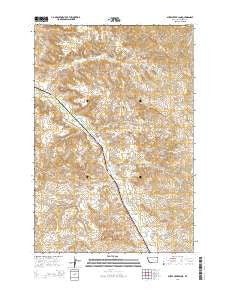 Sheep Creek Camp Montana Current topographic map, 1:24000 scale, 7.5 X 7.5 Minute, Year 2014