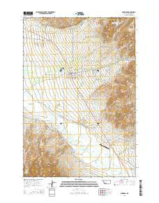 Sheridan Montana Current topographic map, 1:24000 scale, 7.5 X 7.5 Minute, Year 2014