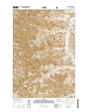 Stacey Montana Current topographic map, 1:24000 scale, 7.5 X 7.5 Minute, Year 2014 from Montana Maps Store