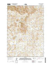 Stack Rocks Montana Current topographic map, 1:24000 scale, 7.5 X 7.5 Minute, Year 2014 from Montana Maps Store