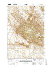 Stagville Draw Montana Current topographic map, 1:24000 scale, 7.5 X 7.5 Minute, Year 2014 from Montana Maps Store