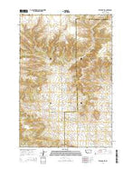 Stephens Hill Montana Current topographic map, 1:24000 scale, 7.5 X 7.5 Minute, Year 2014 from Montana Map Store