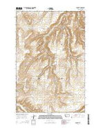 Stockett Montana Current topographic map, 1:24000 scale, 7.5 X 7.5 Minute, Year 2014 from Montana Map Store