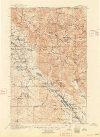 Stryker Montana Historical topographic map, 1:125000 scale, 30 X 30 Minute, Year 1916