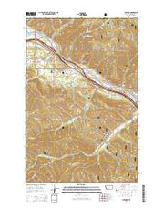 Superior Montana Current topographic map, 1:24000 scale, 7.5 X 7.5 Minute, Year 2014 from Montana Maps Store