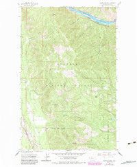 Swede Mountain Montana Historical topographic map, 1:24000 scale, 7.5 X 7.5 Minute, Year 1963