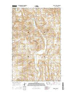 Tadpole Lake Montana Current topographic map, 1:24000 scale, 7.5 X 7.5 Minute, Year 2014 from Montana Map Store