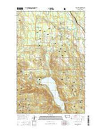 Tally Lake Montana Current topographic map, 1:24000 scale, 7.5 X 7.5 Minute, Year 2014 from Montana Map Store