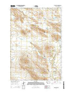 Taylor Hills Montana Current topographic map, 1:24000 scale, 7.5 X 7.5 Minute, Year 2014 from Montana Map Store