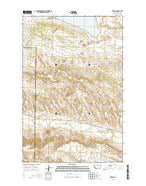 Teigen Montana Current topographic map, 1:24000 scale, 7.5 X 7.5 Minute, Year 2014 from Montana Map Store