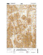 Telegraph Mountain Montana Current topographic map, 1:24000 scale, 7.5 X 7.5 Minute, Year 2014 from Montana Map Store