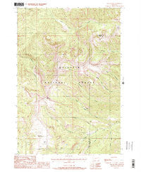 The Sentinel Montana Historical topographic map, 1:24000 scale, 7.5 X 7.5 Minute, Year 1988