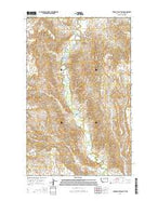 Thoeny Hills East Montana Current topographic map, 1:24000 scale, 7.5 X 7.5 Minute, Year 2014 from Montana Map Store