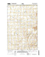 Thoeny Hills West Montana Current topographic map, 1:24000 scale, 7.5 X 7.5 Minute, Year 2014 from Montana Map Store