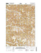 Threemile Buttes Montana Current topographic map, 1:24000 scale, 7.5 X 7.5 Minute, Year 2014 from Montana Map Store