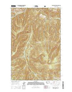 Thunder Mountain Montana Current topographic map, 1:24000 scale, 7.5 X 7.5 Minute, Year 2014 from Montana Map Store