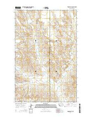 Todd Lakes SE Montana Current topographic map, 1:24000 scale, 7.5 X 7.5 Minute, Year 2014 from Montana Maps Store