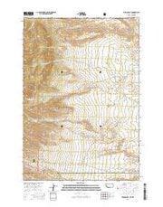 Tolman Flat Montana Current topographic map, 1:24000 scale, 7.5 X 7.5 Minute, Year 2014 from Montana Maps Store
